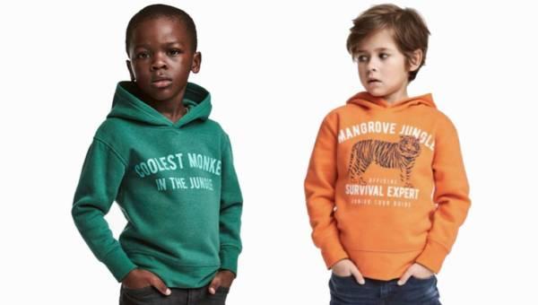 "Wpadka H&M! Kontrowersyjna reklama bluzy z napisem ""Coolest monkey in the jungle"""
