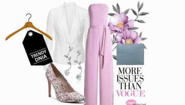Wiosenna stylizacja w kolorze Pink Lavender