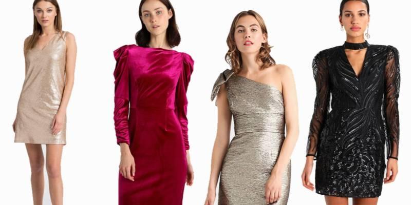 sukienki w stylu lat 80-tych