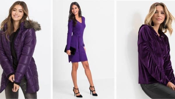 Ultra Violet w Bonprix: poznaj kolor roku i wszystkie jego odcienie