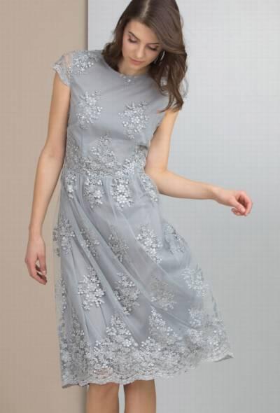 72e155cf6b Minimalistyczna granatowa sukienka z marynarskim motywem – 279