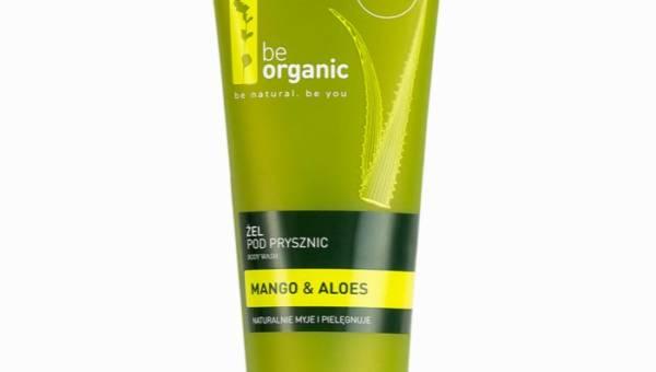 Be Organic, Żel pod prysznic z mango i aloesem