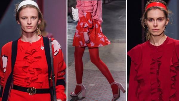 Lady in red – czyli jak nosić kolor czerwony