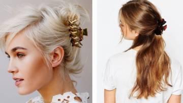 Gorący trend z New York Fashion Week – klamra do włosów w stylu lat 90-tych!