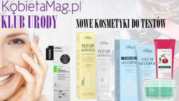Klub Urody KobietaMag.pl: Testy dla debiutantek!