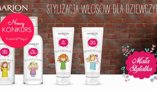 Konkurs: Wygraj zestaw kosmetyków Marion Mała Stylistka!