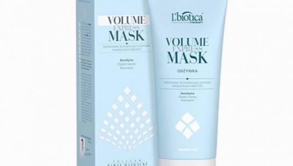 L'biotica, Professional Therapy, Intensywnie regenerująca odżywka Volume Express Mask