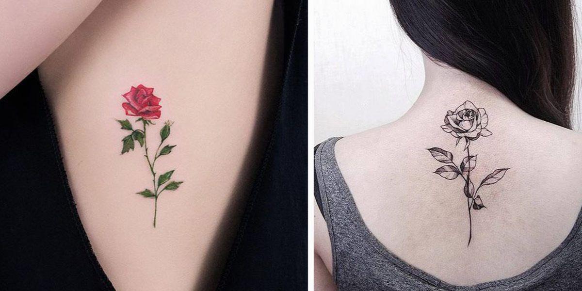Tatuaż Róża Historia Symbolika Inspiracje Kobietamagpl