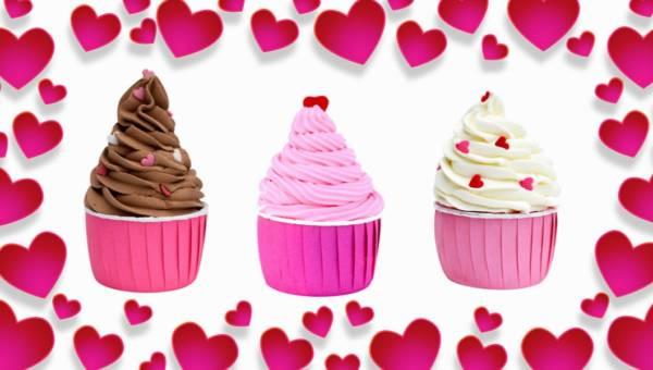 Walentynkowe muffinki do kąpieli od Starej Mydlarni