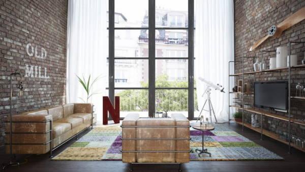 Cegła i beton czy drewno i kwiaty – w jakim stylu urządzić salon