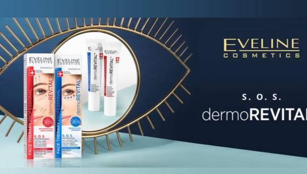 Eveline S.O.S. DermoRevital™ – intensywna kuracja na zmarszczki, obrzęki i cienie