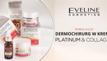 Nowość Eveline: Platinum & Collagen, czyli kosmetyki intensywnie redukujące zmarszczki
