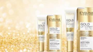 Nowe kremy od Eveline z technologią Gold Therapy 4D® – moc złota w pielęgnacji skóry