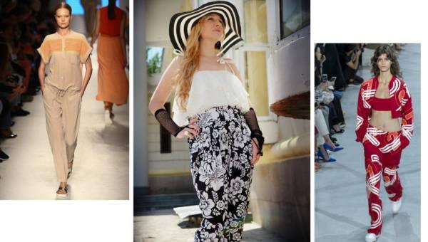 Modne spodnie: Jak nosić culottes?