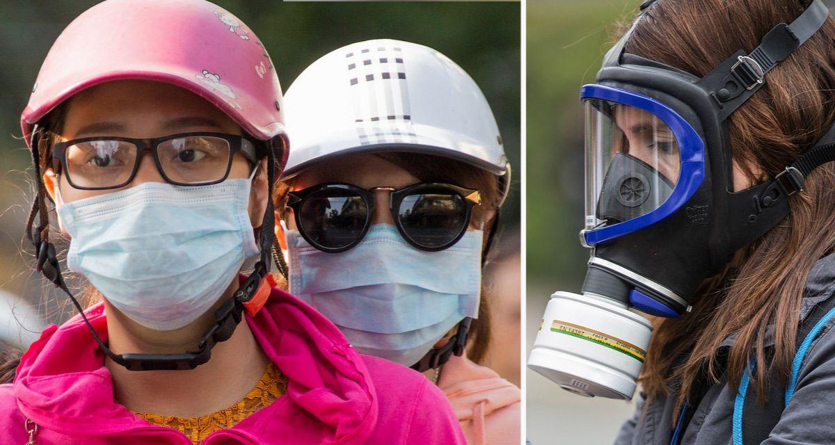najlepsze maski antysmogowe