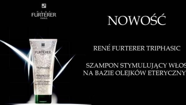 Nowość w walce z wypadaniem włosów: szampon stymulujący René Furterer Triphasic