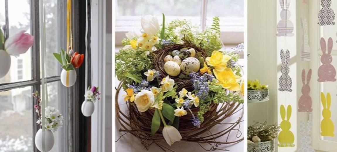 Wielkanocne dekoracje okien: DIY