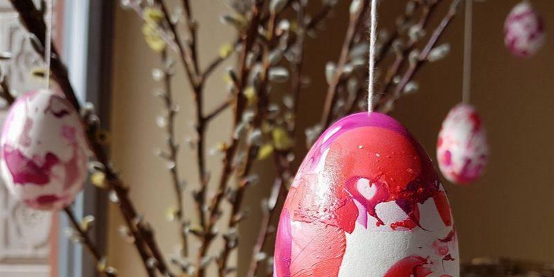 Wielkanocne dekoracje okien