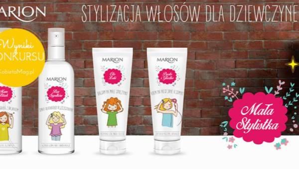 Wyniki konkursu: Wygraj zestaw kosmetyków Marion Mała Stylistka!