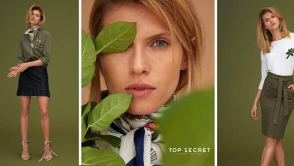 Zielnik Top Secret – zobacz lookbook na pierwszy dzień wiosny