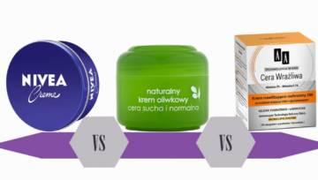 Bitwa na kosmetyki: kremy do twarzy – Nivea, Ziaja czy AA?