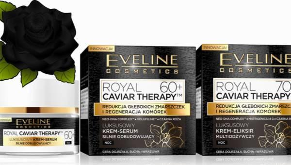 Nowości z serii Eveline Royal Caviar Therapy: kremy 60+ i 70+