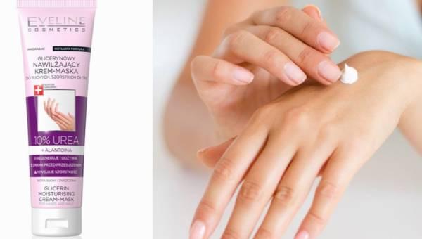 Glicerynowy nawilżający krem-maska Eveline – ratunek dla suchych dłoni