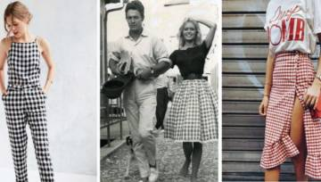 Kratka vichy – słodki letni trend z lat 50-tych powraca!