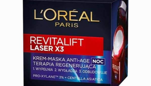L'Oreal Revitalift Laser x3: krem na noc
