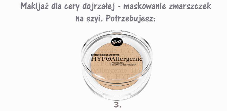 maskowanie zmarszczek na szyi kosmetyki