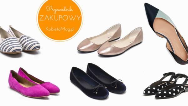 Najładniejsze buty wiosna 2018 – przegląd modnych balerinek z sieciówek!