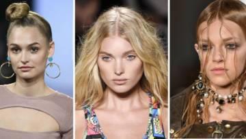 Modne fryzury wiosna lato 2018 – inspirujące trendy z pokazów mody!