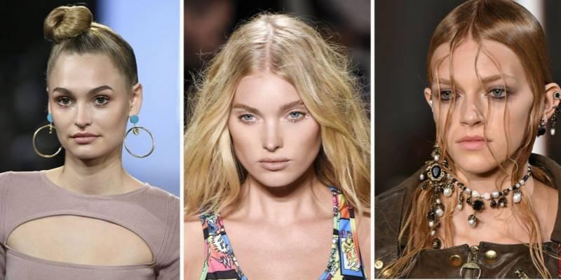 Modne Fryzury Wiosna Lato 2018 Trendy Z Pokazów Mody