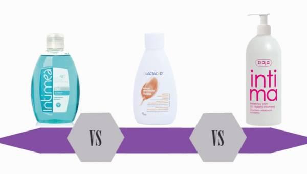 Bitwa na kosmetyki – płyny do higieny intymnej
