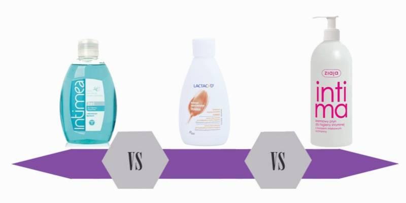 bitwa na kosmetyki płyny do higieny intymnej