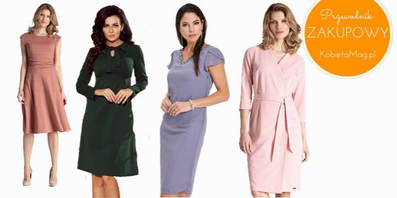 015600ac3d Idealne sukienki na komunię dla mamy - 15 TOP modeli - KobietaMag.pl