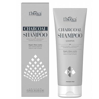 L'biotica, Charcoal Everyday Shampoo – Energetyzujący Szampon Oczyszczający