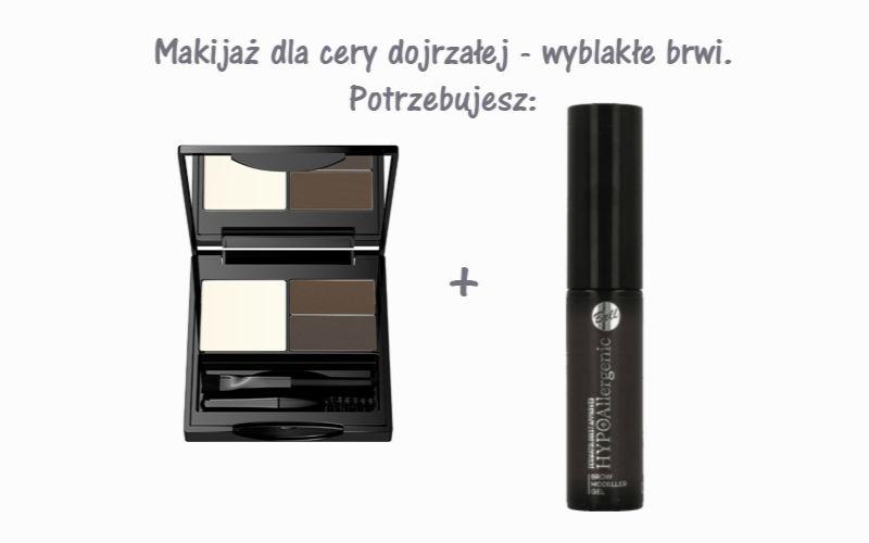 makijaż odmładzający kosmetyki na wyblakłe brwi
