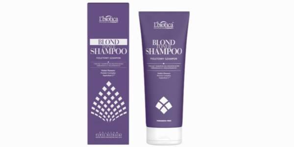 fioletowy szampon