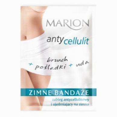 Zimne bandaże antycellulitowe brzuch + pośladki + uda, Marion