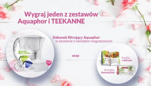 Konkurs Aquaphor i TEEKANNE: wygraj wyjątkowy prezent dla swojej mamy!