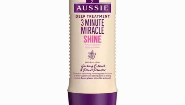 Aussie, 3 Minute Miracle Shine, odżywka do matowych i zmęczonych włosów
