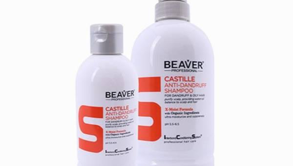 Beaver, Castille Anti-Dandruff, Szampon przeciwłupieżowy