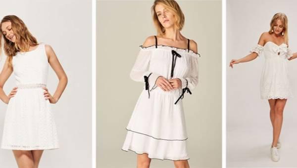 Biała sukienka. Jak ją nosić w sezonie wiosna-lato 2018?