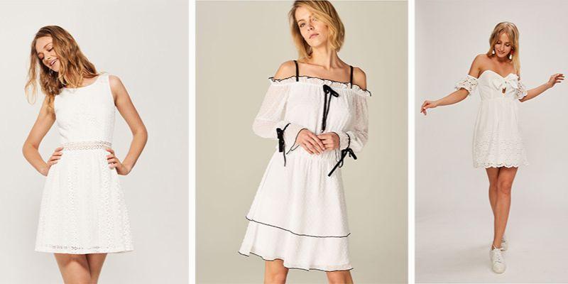 Biała sukienka. Jak ją nosić w sezonie wiosna lato 2018