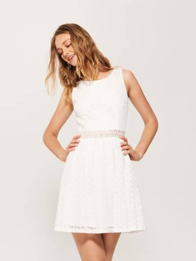 Biała sukienka. Jak nosić małą białą w sezonie wiosna-lato 2018?