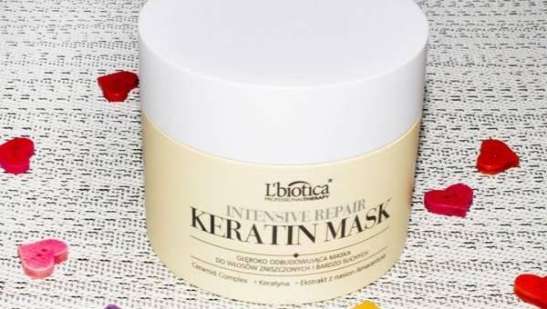 L'biotica, Intensive Keratin Mask – głęboko odbudowująca maska do włosów zniszczonych