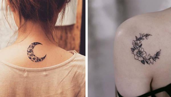Księżyc z kwiatów – tatuaż idealny na majową wiosnę w pełni!