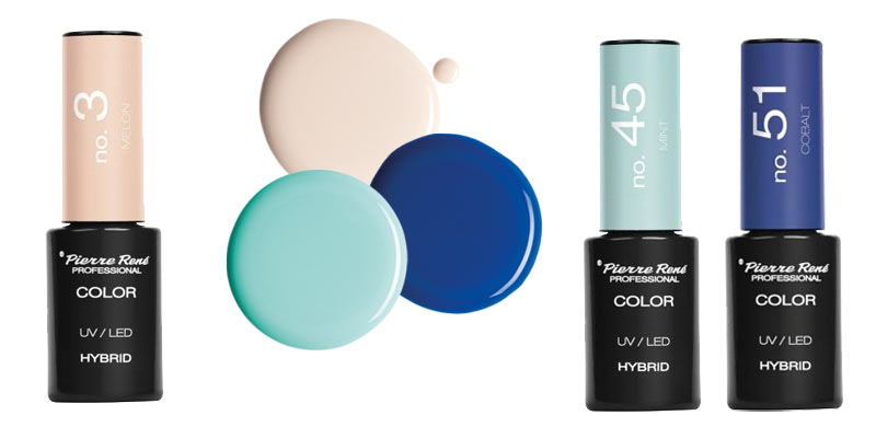 manicure na lato 2018 modne kolory