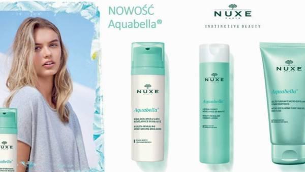 Aquabella – nowa linia kosmetyków do skóry mieszanej od NUXE